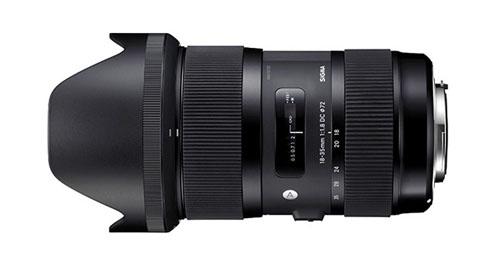 Sigma 18-35mm f/1.8 Canon EF