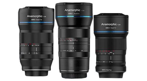 zestaw obiektywów Sirui Anamorphic 3